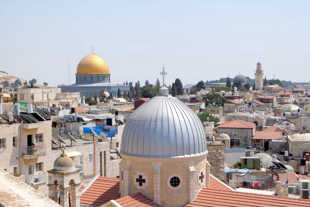 Série Palestina Fumaça Jerusalém
